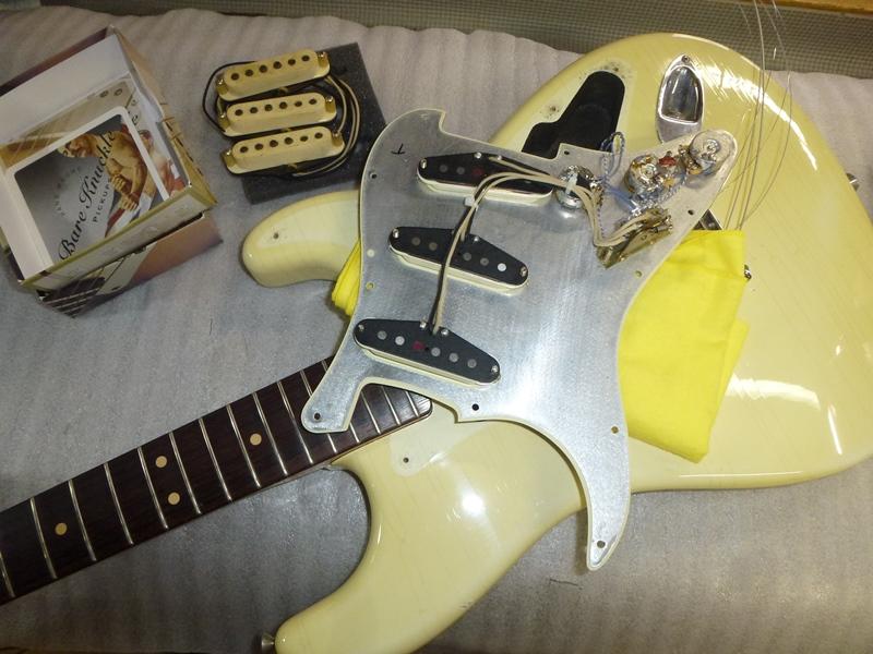 ギター修理 電装系